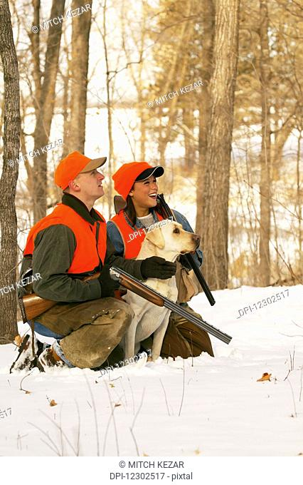 Couple Pheasant And Grouse Hunting