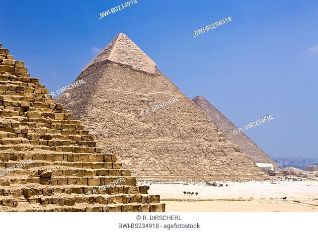 Pyramids of Giza, Egypt, Kairo, Gizeh