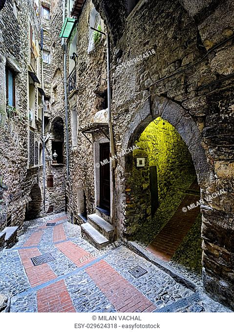 beautiful medieval villages of Italy – Liguria, Dolceaqua