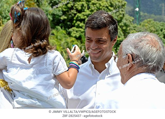 Leopoldo López Mendoza is a Venezuelan politician, currently serving as National Coordinator of Venezuelan political party Voluntad Popular