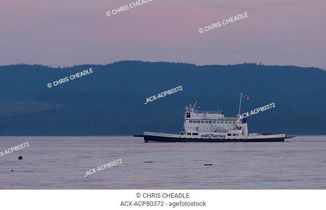BC Ferries North Island Princess, serving Texada Island to Powell River, British Columbia, Canada