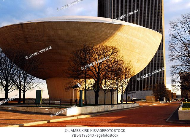 The Egg, a performing arts center, in Albany, New York