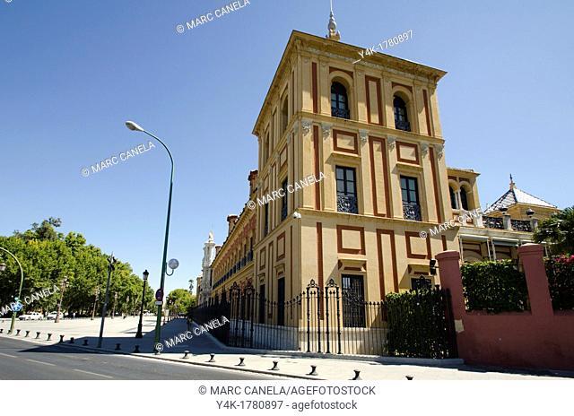 Europe, Spain, Sevilla, Street details, urban Style, Tobaco usine, Antigua fabrica de tabaco