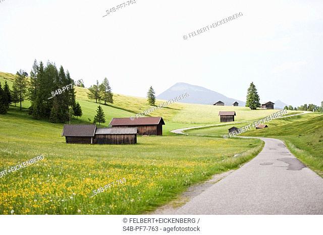 Buckelwiesen, Mittenwald, Bavaria, Germany
