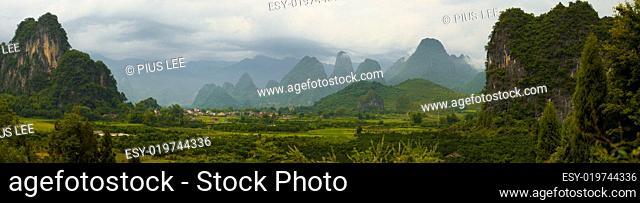 Xingping Karst Panorama