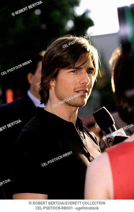 Tom Cruise at premiere of Mission Impossible 2, 5/00, LA, CA, by Robert Bertoia