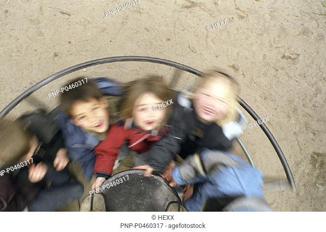 Spielplatzkarussell