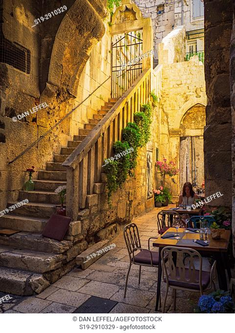 Split Croatia Street Scene Old Town