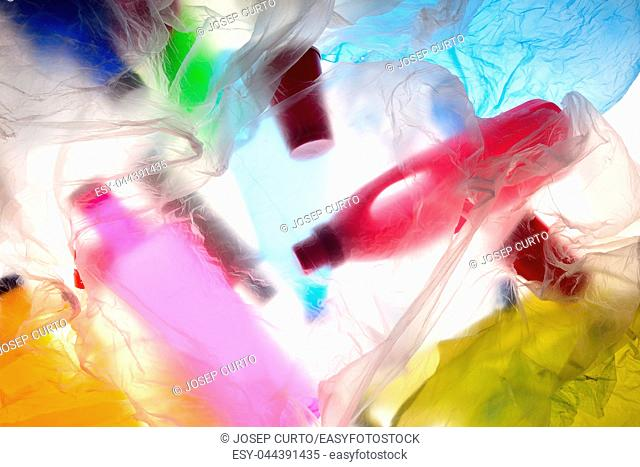 trash diffuse plastic backlight