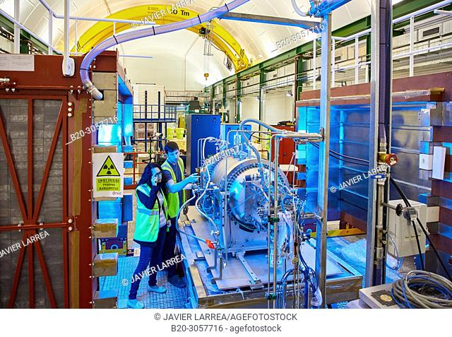 NEXT (Neutrino Experiment with a Xenon TPC) is a neutrinoless double-beta decay experiment that operates at the Canfranc Underground Laboratory (LSC)