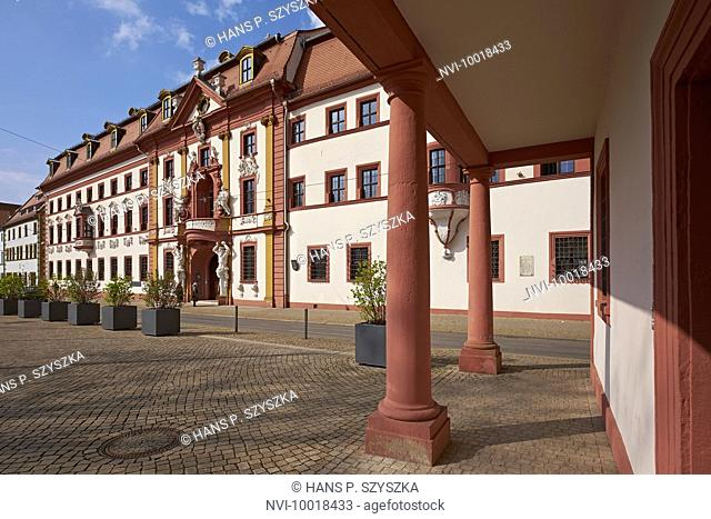 Former Kurmainzische Lieutenancy, Turingian Chancellery in Erfurt, Thuringia, Germany, Europe