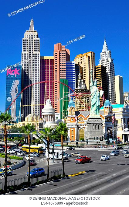 New York New York Casino Skyline Las Vegas Nevada Sin City Gambling Capital NV