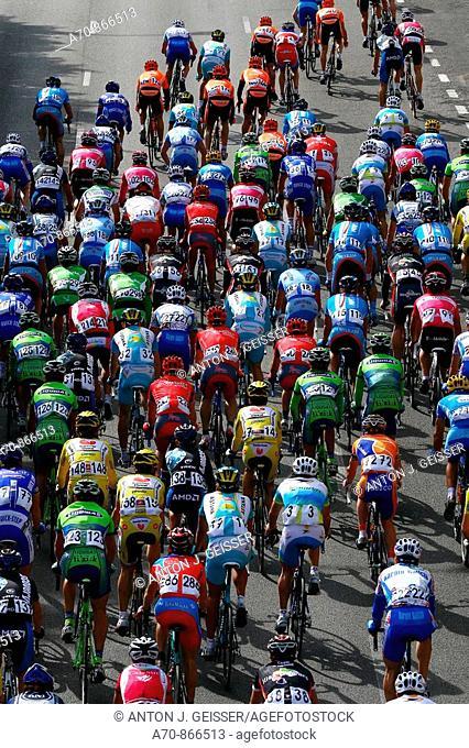 Cycle racing Mallorca Challenge 2007 1st stage