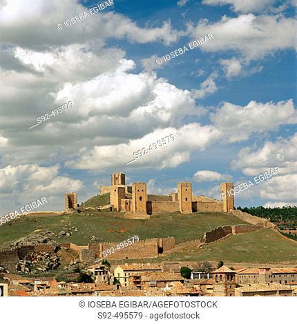 Molina de Aragon castle. Guadalajara province. Spain