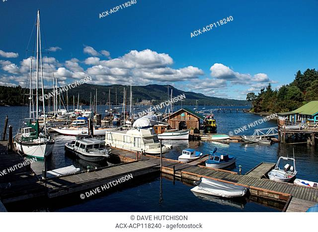 Brentwood Bay, Vancouver Island, BC, Canada