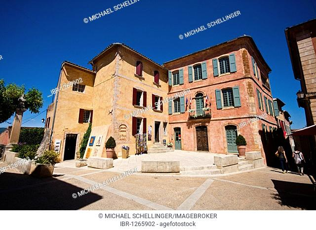 Roussillon, department of Vaucluse, Provence, France, Europe