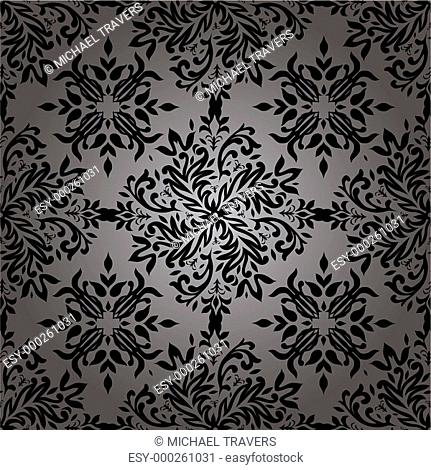 Abstract floral repeat