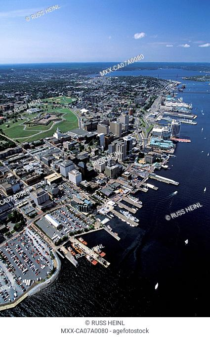 Aerial of Halifax, Nova Scotia, Canada