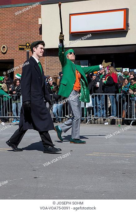 St. Patrick's Day Parade, 2014, South Boston, Massachusetts, USA