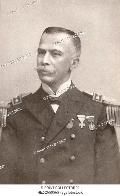 'H.E. Admiral Alexandrino de Alencar', 1914. Artist: Unknown