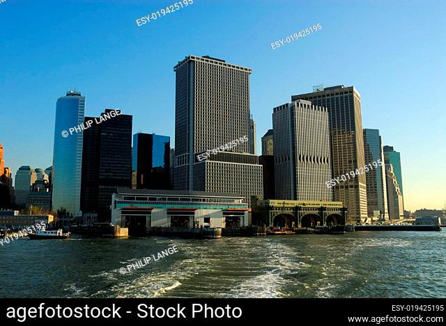 New York City South Ferry Terminal