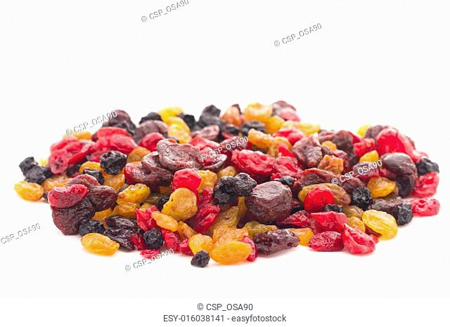 many dried berries