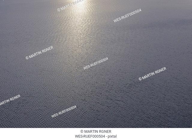 Antarctic, Antarctic Peninsula, View of rippled weddell sea