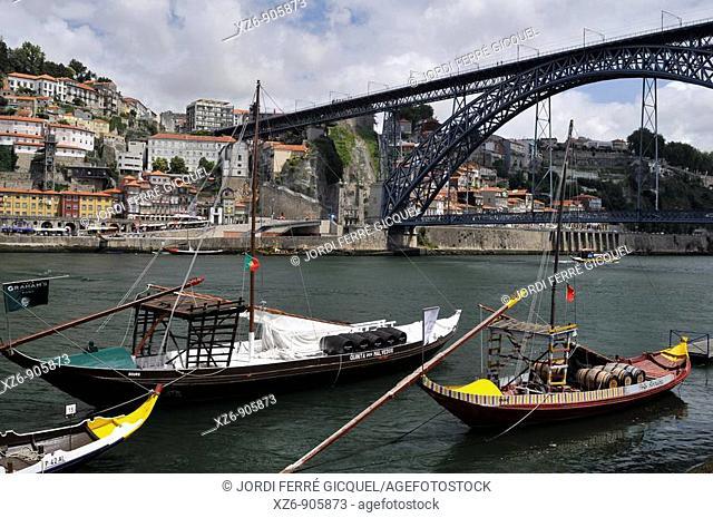 Rio Duero, Porto, Portugal, Europe