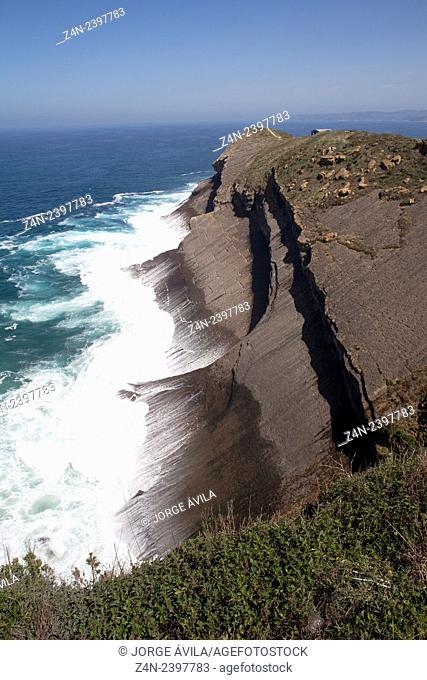 Cliff, Santander, Spain