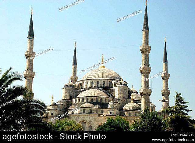 Blaue Moschee-Sultanahmet Moschee