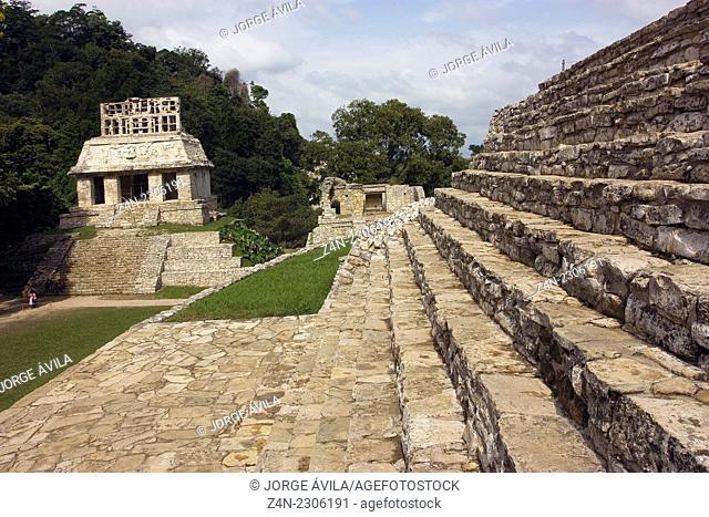 Palenque, Maya site, Mexico