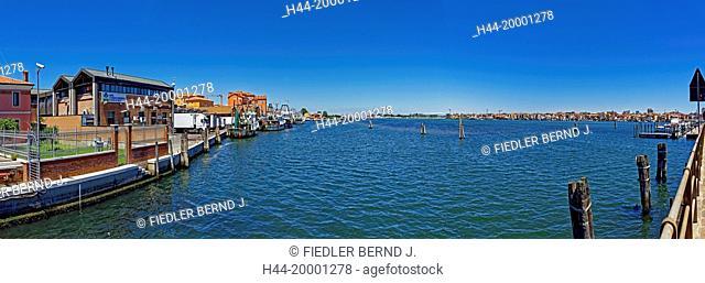 Chioggia, local view, harbour, lagoon