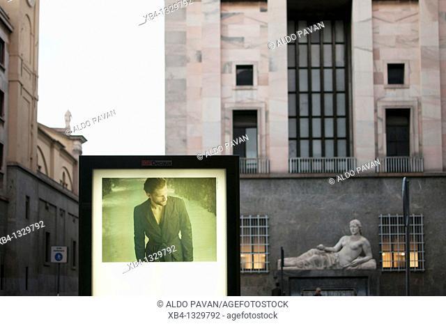 Italy, Piedmont, Turin, CNL square