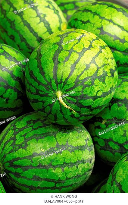 Close-up of watermelons