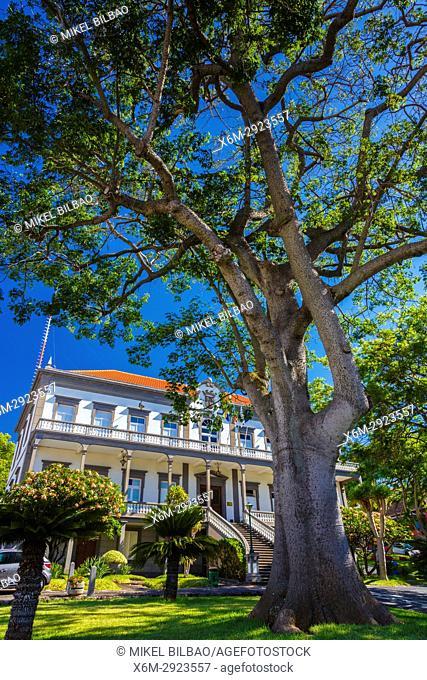 City Hall. Santa Cruz village. Madeira, Portugal, Europe