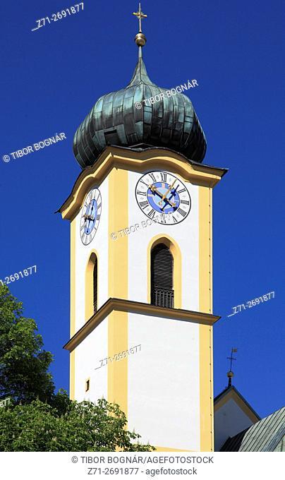 Austria, Tyrol, Kufstein, church,