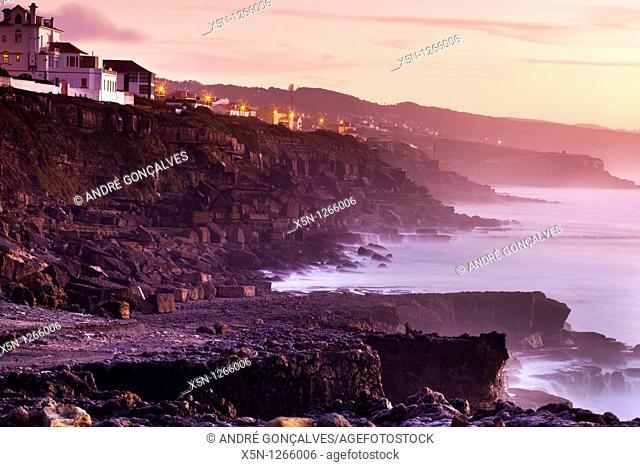Sunset in the Portuguese Coast