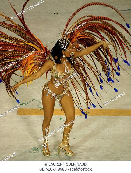 Carnival 2009, School of Samba Portela, Rio de Janeiro, Brazil