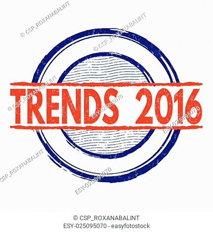 Trends 2016 stamp