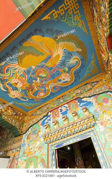 Buddhist Temple, Boudhanath, UNESCO World Heritage Siite, Kathmandu, Nepal, Asia