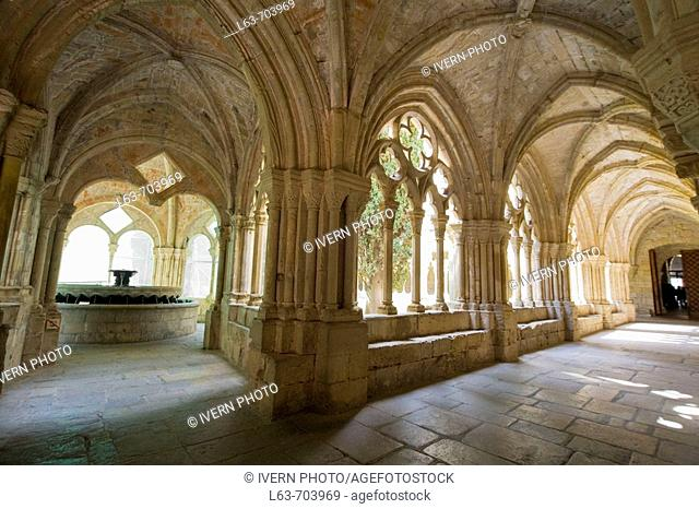 Monastery of Poblet. Tarragona province, Catalonia, Spain