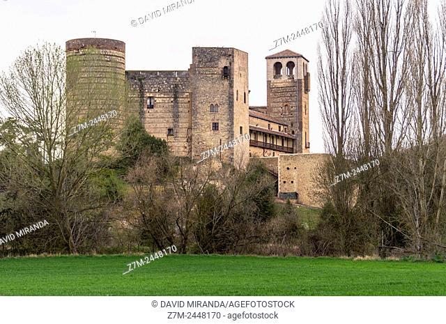 Castillo de Castilnovo. Segovia province. Castile-Leon. Spain