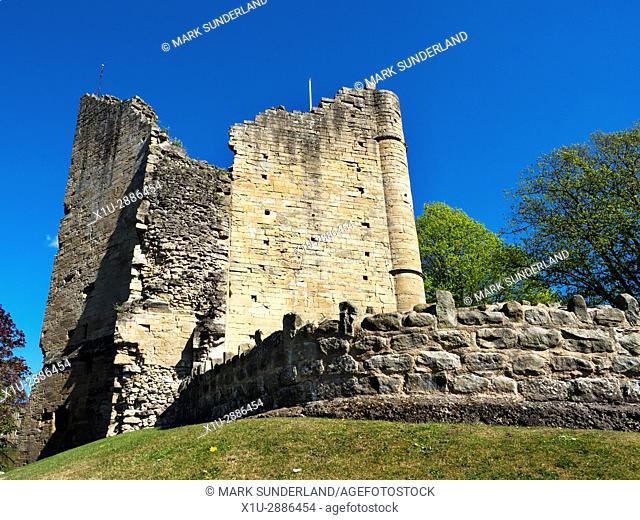 The Kings Tower at Knaresborough Castle, Knaresborough, North Yorkshire, England