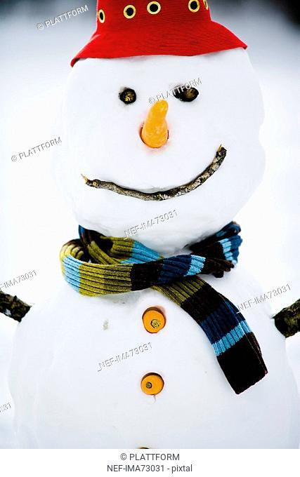 A snowman Sweden