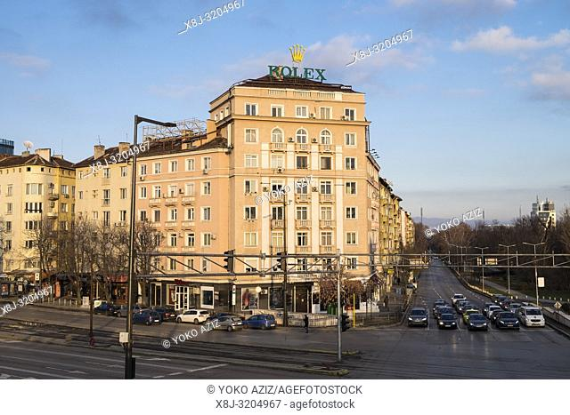 Bulgaria, Sofia, city view
