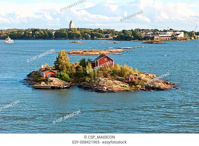 Island in the Baltic Sea