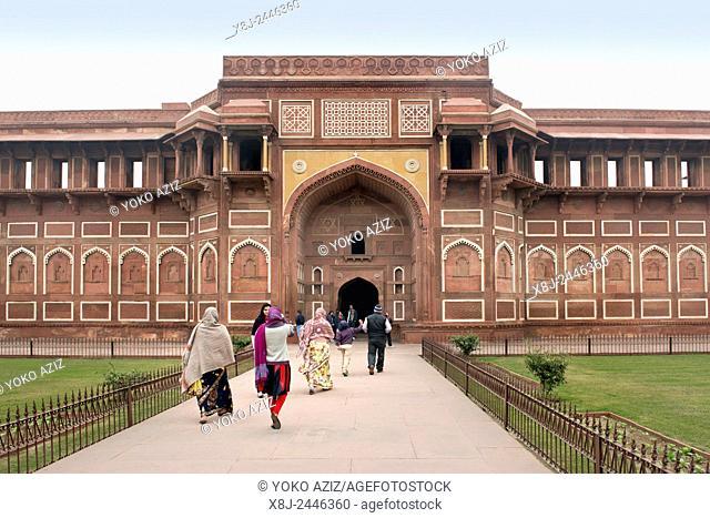 India, Uttar Pradesh, Agra, Red Fort
