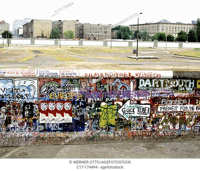 Berlin Wall. Berlin. Germany