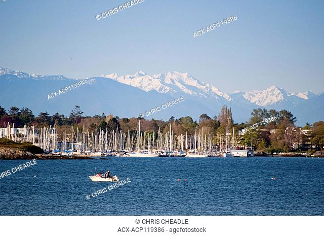 Oak Bay Marina, Oak Bay, Victoria, British Columbia, Canada