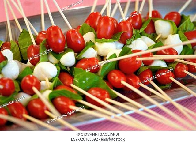 Appetizers at a Party